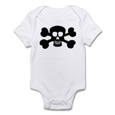 SKULL AND CROSSBONES Infant Bodysuit