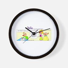 Cute Family circus Wall Clock