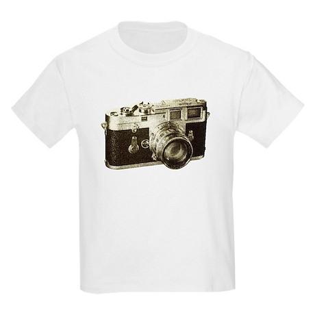 Retro Camera Kids Light T-Shirt