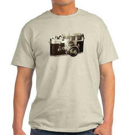 Retro Camera Light T-Shirt