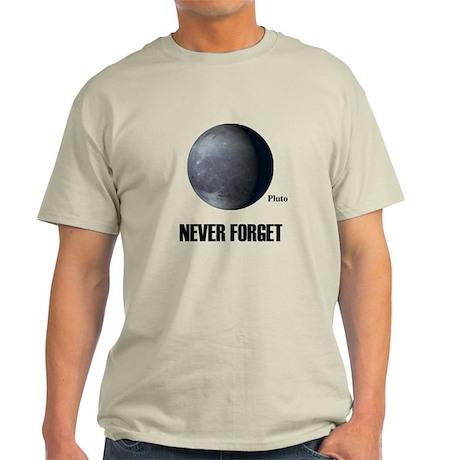 Never Forget Pluto Light T-Shirt