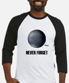 Never Forget Pluto Baseball Jersey