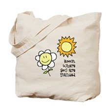 Bloom Where Planted 1 Tote Bag