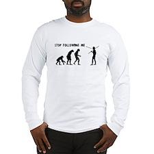 Stop Following Me Evolution Long Sleeve T-Shirt
