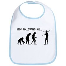 Stop Following Me Evolution Bib