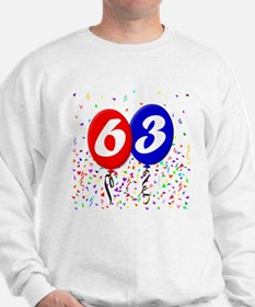 63rd Birthday Sweatshirt