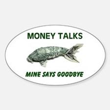 There Goes More! - Oval Sticker (10 Pk)