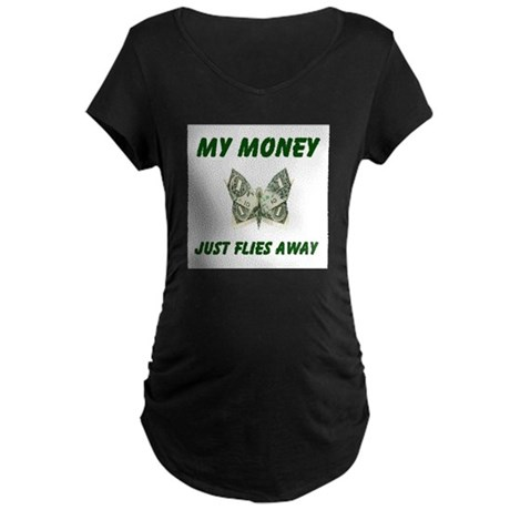 THERE GOES MORE! - Maternity Dark T-Shirt