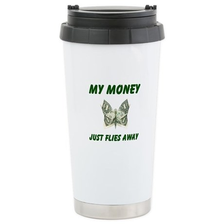 THERE GOES MORE! - Stainless Steel Travel Mug