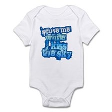 'Scuse me While I Kiss the Sk Onesie