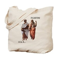Philosophical Divide Tote Bag