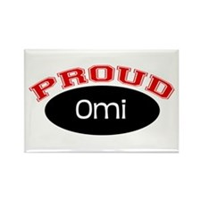 Proud Omi Rectangle Magnet (10 pack)