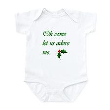 Oh Come Let Us Adore Me (Infant Bodysuit)