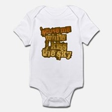 'Scuse me While I Kiss the Sk Infant Bodysuit