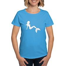 Mermaid White T-Shirt
