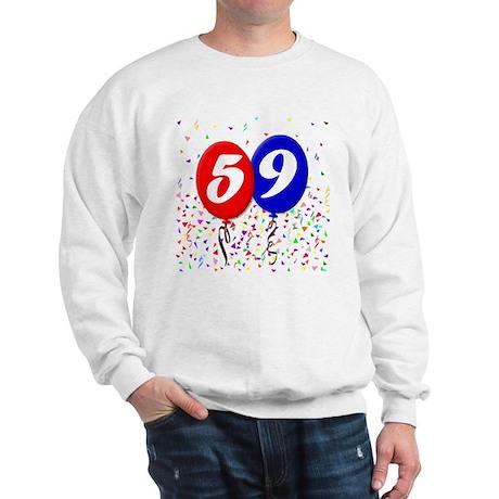 59th Birthday Sweatshirt