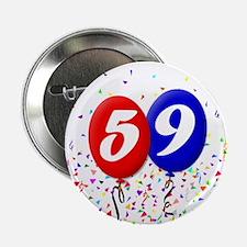 59th Birthday Button
