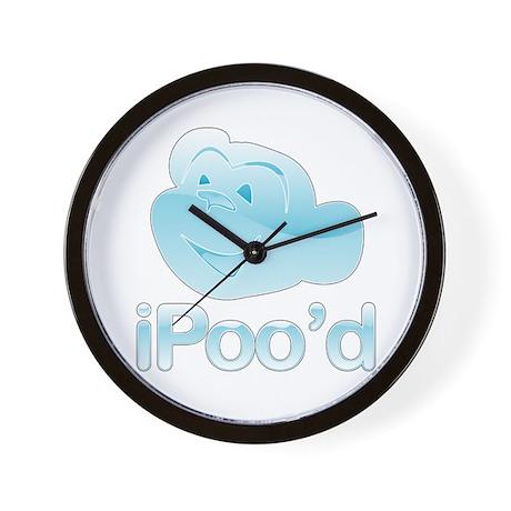 iPoo'd Wall Clock