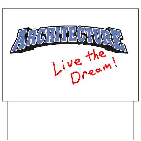 Architecture - LTD Yard Sign