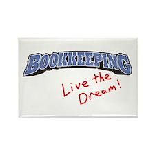 Bookkeeping - LTD Rectangle Magnet