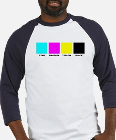 CMYK Four Color Process Baseball Jersey