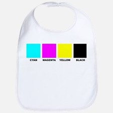 CMYK Four Color Process Baby Bib