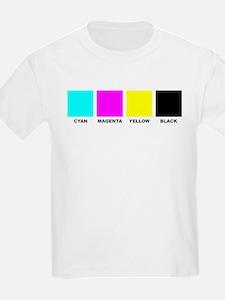 CMYK Four Color Process T-Shirt