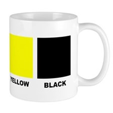 CMYK Four Color Process Coffee Mug