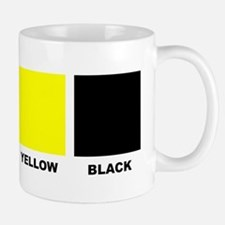 CMYK Four Color Process Coffee Small Small Mug