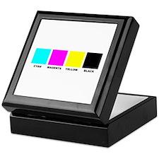CMYK Four Color Process Keepsake Box