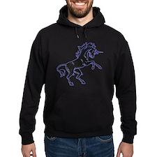 Black Unicorn Hoodie