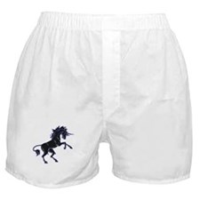 Black Unicorn Boxer Shorts