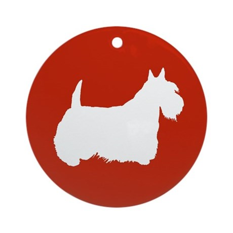 Scottish Terrier Ornament (Round)