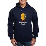 Geocache Chick Hoodie (dark)