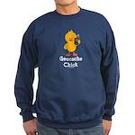Geocache Chick Sweatshirt (dark)