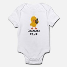 Geocache Chick Infant Bodysuit