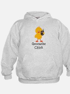 Geocache Chick Hoodie