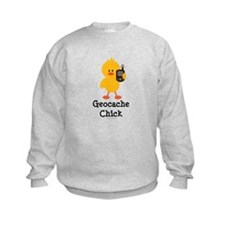 Geocache Chick Sweatshirt