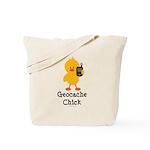 Geocache Chick Tote Bag
