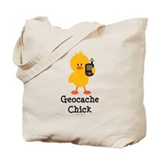 Geocache Chick Tote Bag