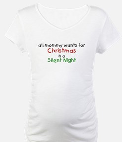 All mommy wants for Christmas Shirt