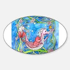 Sea Dragon's Quest Oval Decal