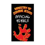 Ministry of Zombie Jesus - Member Sticker