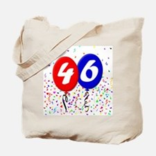 46th Birthday Tote Bag