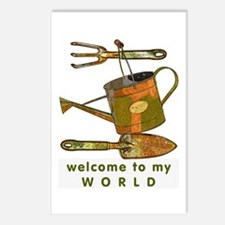 Garden Tools Postcards (Package of 8)