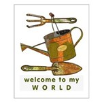 Garden Tools Small Poster