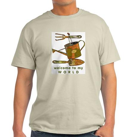 Garden Tools Ash Grey T-Shirt