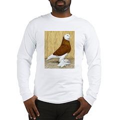 WOE Red Bald Pigeon Long Sleeve T-Shirt