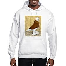 WOE Red Bald Pigeon Hoodie