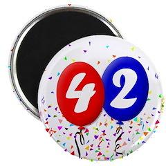 42nd Birthday Magnet